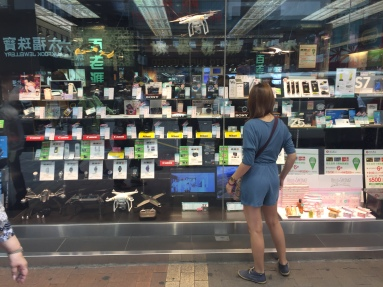 A Tech store just beside the MongKok Station
